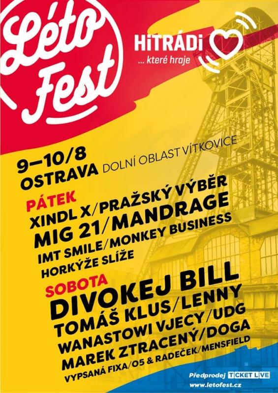 LétoFest Ostrava 2019 LétoFest Ostrava 2019 - program Ostrava ... 8cd4194394b