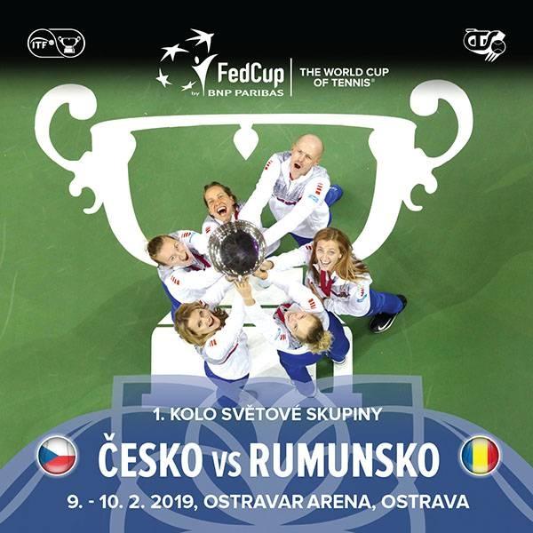 Fed Cup 2019 - Česká republika vs. Rumunsko (Tenis) ad68a7678d