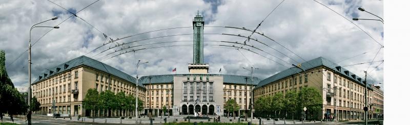 Vyhlídková věž Nové radnice, autor p. Kudělka